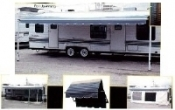 Screen Room for RV Roll up Awning