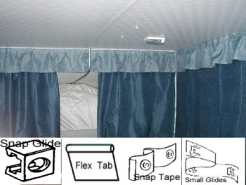 Pop Up Camper Curtains Rv Workshop