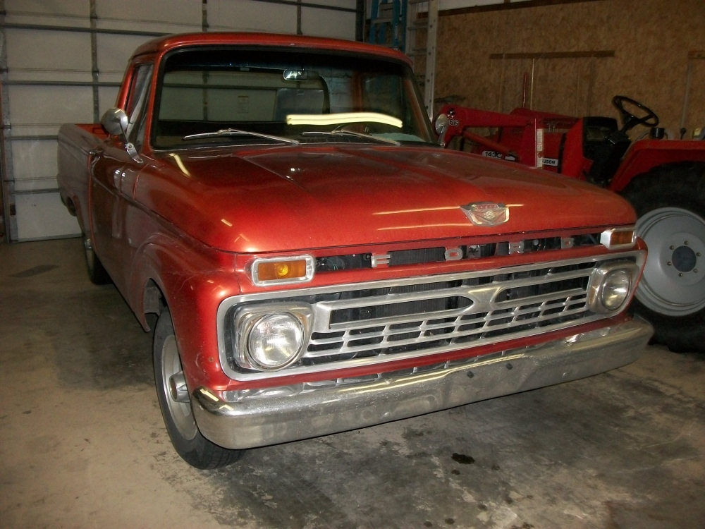 1966 Ford F100 Pick Up Truck