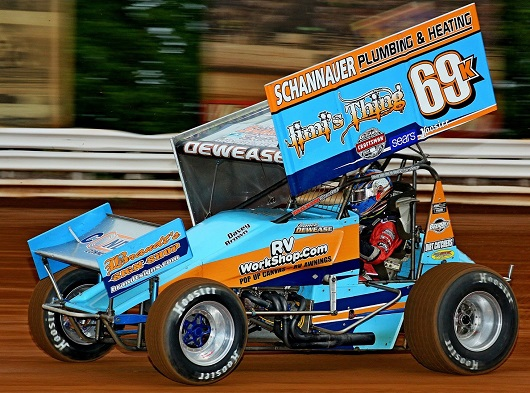 Lance Dewease in the 69K Port Royal 2017