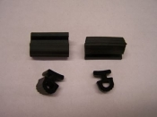 Starcraft Weather stripping Roof Seal Kit (40' Black) 90's & Newer. Seal is 3/4'' wide  x 3/4'' high.